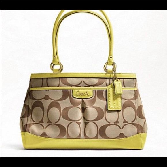 dba88723802 Coach Bags   Signature C Fabric Jacquard Carryall Tote   Poshmark